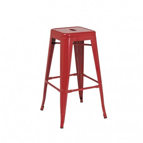 Scaun Bar SL Long rosu