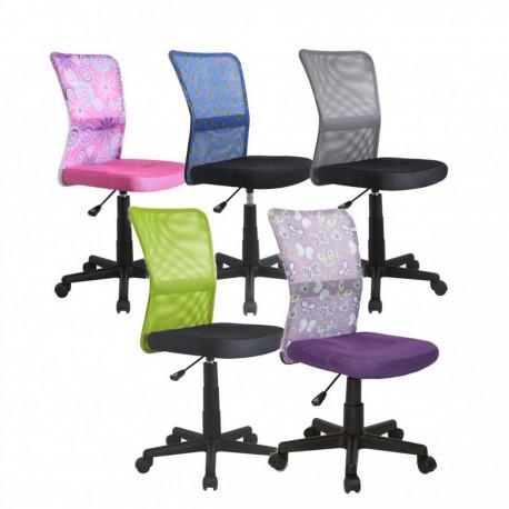 Scaun birou copii mesh HM Dingo violet