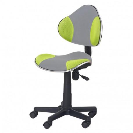 Scaun birou copii HM Flash 2 verde - gri