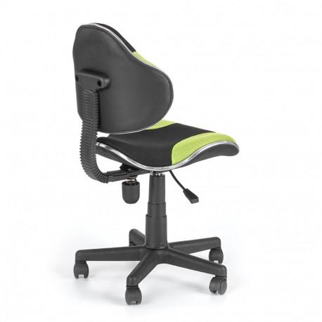 Scaun birou copii HM Flash verde - negru