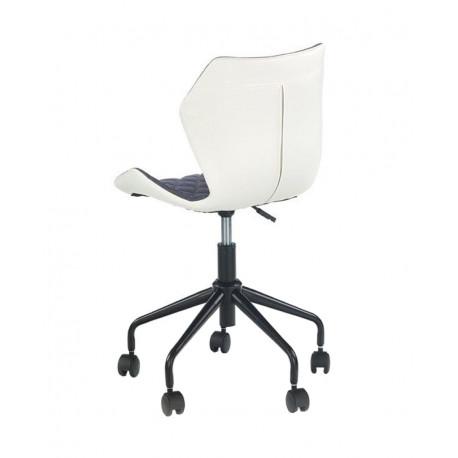 Scaun birou copii HM Matrix alb - gri