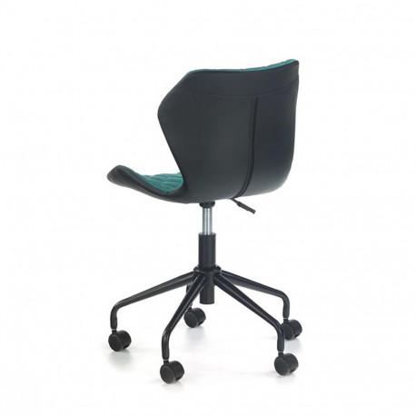 Scaun birou copii HM Matrix negru - turcoaz