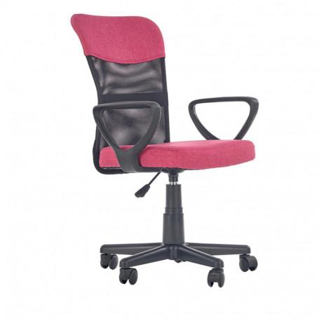 Scaun birou copii mesh HM Timmy roz