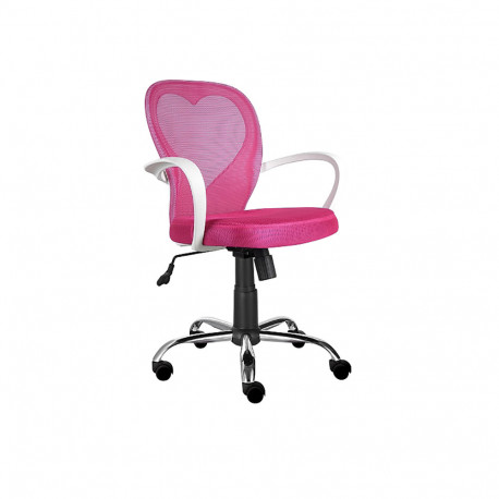 Scaun birou copii SL Daisy roz