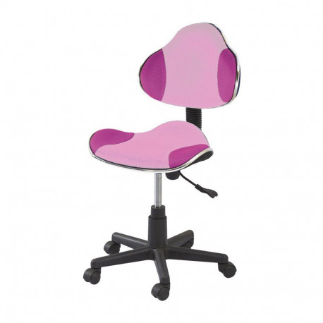 Scaun birou copii SL QG2 roz