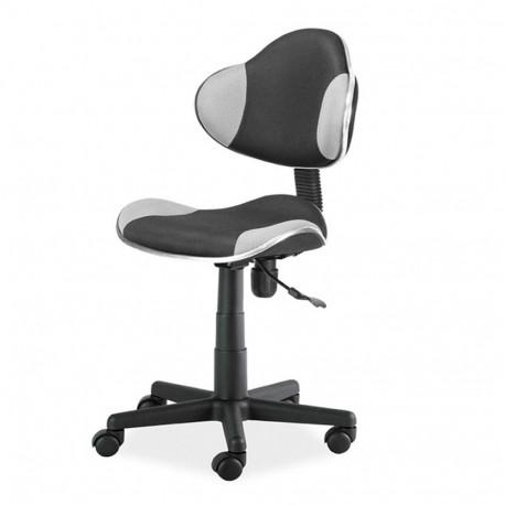 Scaun birou copii mesh SL QG2 gri - negru