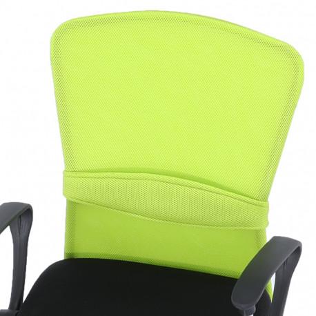 Scaun birou GL AEX verde - negru