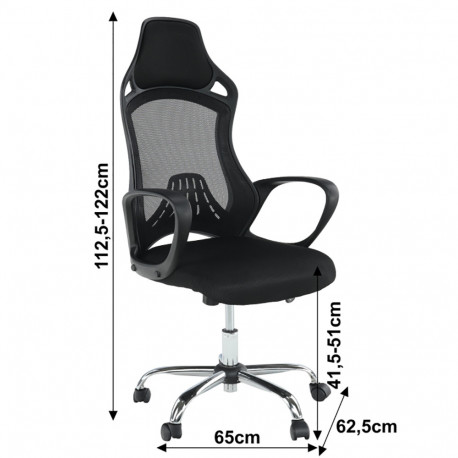 Scaun birou GL ARIO negru