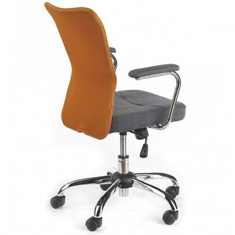 Scaun birou copii mesh HM Andy portocaliu