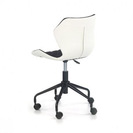 Scaun birou HM Matrix alb - negru