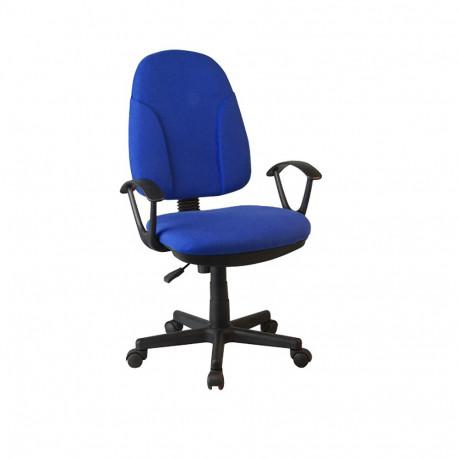 Scaun birou, material albastru, GL DEVRI