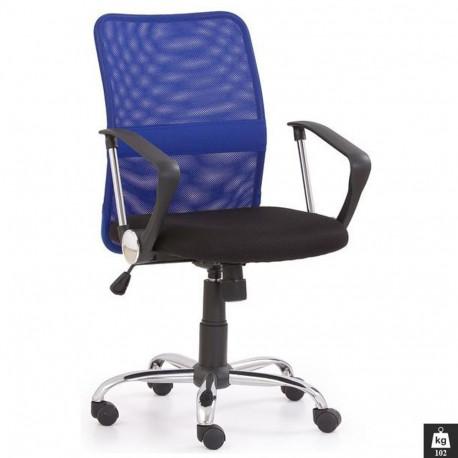 Scaun birou mesh HM Tony albastru