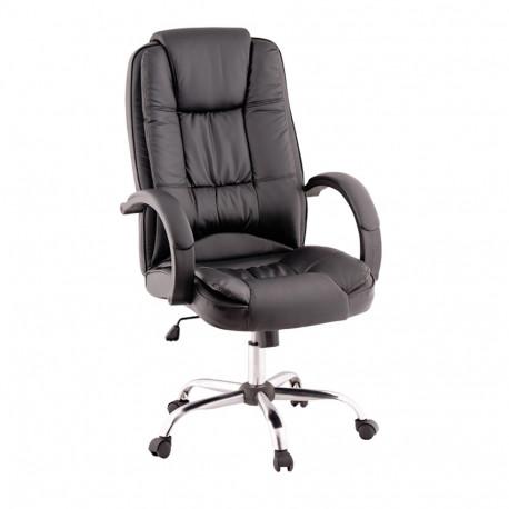Scaun de birou, negru/crom, GL MADOX