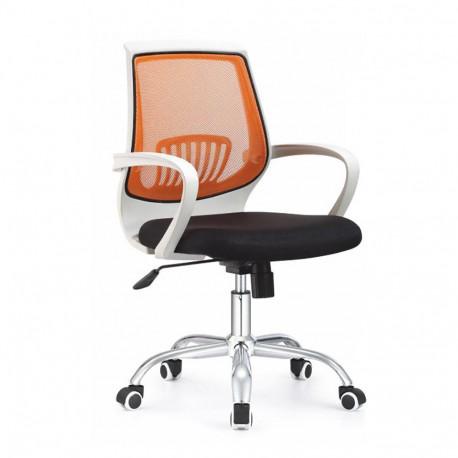 Scaun de birou, negru/portocaliu, GL LANCELOT