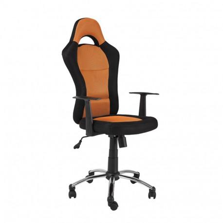 Scaun directorial SL Q039 negru - portocaliu