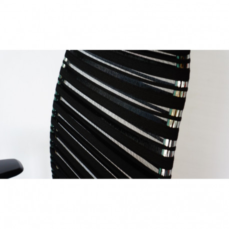 Scaun ergonomic 1975 Marilyn negru