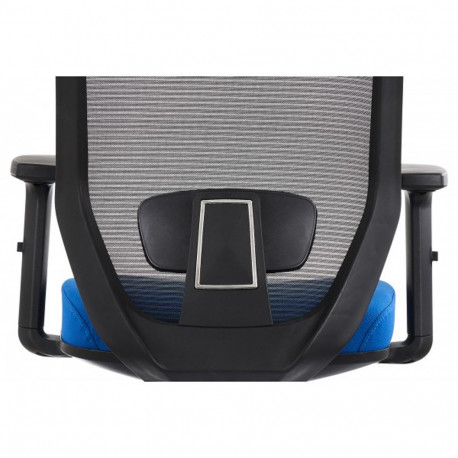 Scaun ergonomic mesh Zen albastru - negru