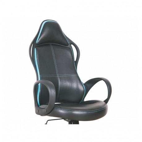 Scaun gaming HM Helix negru - albastru