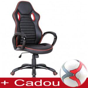 Scaun gaming SL Q105 negru - rosu